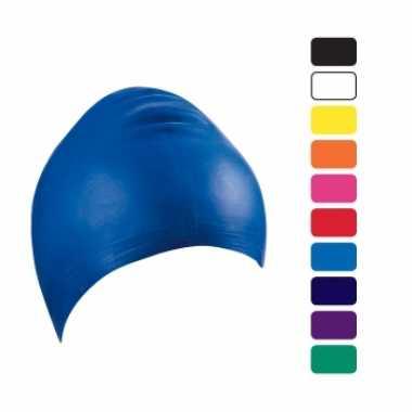 Latex badmuts in kleur