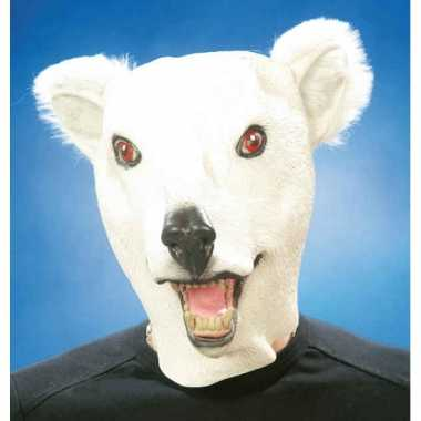 Latex ijsberen masker