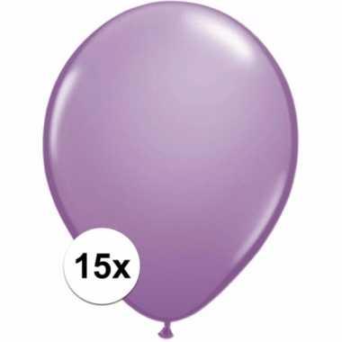 Lavendel ballonnetjes 15 stuks