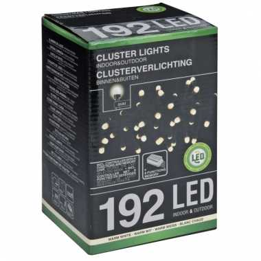 Led clusterverlichting warm wit 4,5 m
