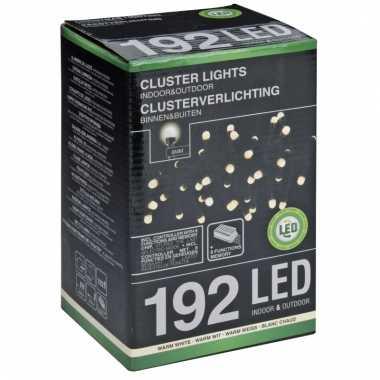 Led clusterverlichting warm wit 4,5 m