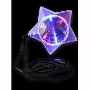 Led ster aan ketting