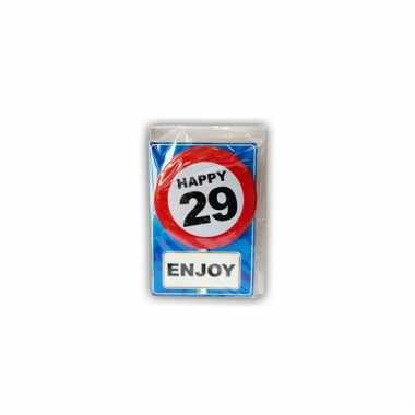 Leeftijd ansichtkaart 29 jaar