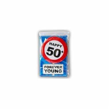 Leeftijd ansichtkaart 50 jaar