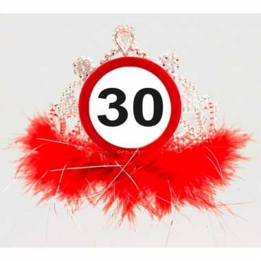 Leeftijd feestartikelen tiara 30 jaar