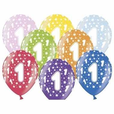 Leeftijd versiering sterren ballonnen 1