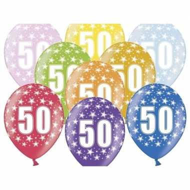 Leeftijd versiering sterren ballonnen 50