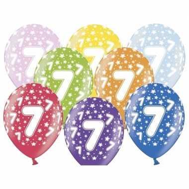 Leeftijd versiering sterren ballonnen 7