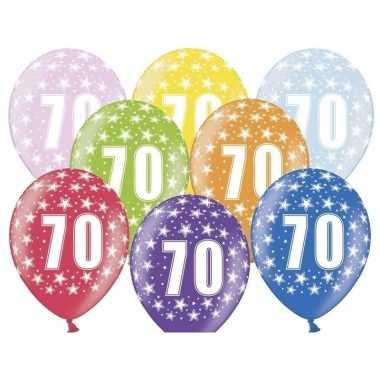Leeftijd versiering sterren ballonnen 70