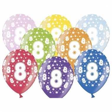 Leeftijd versiering sterren ballonnen 8