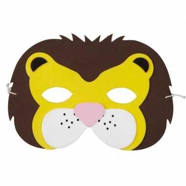 Leeuw foam masker voor kinderen