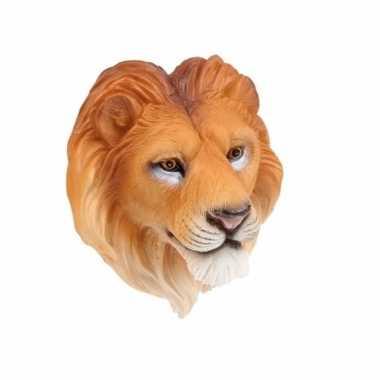Leeuwen magneet 3d van 8cm