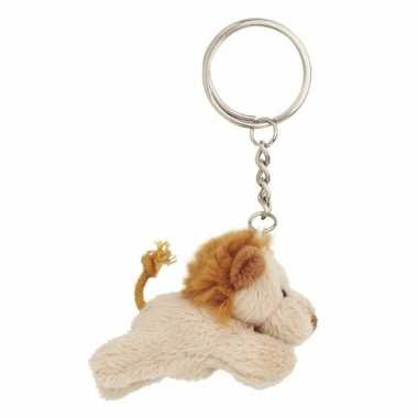 Leeuwen sleutels hangertje 6 cm