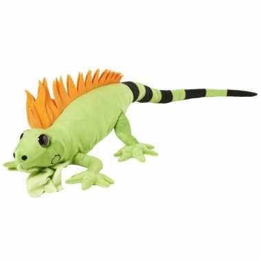 Leguanen knuffels groen 110 cm