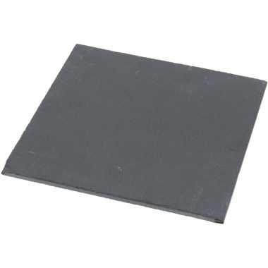 Leisteen serveerplank 20 x 20 cm