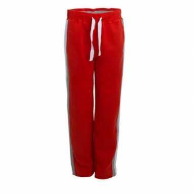 Lemon&soda rode joggingbroeken voor heren