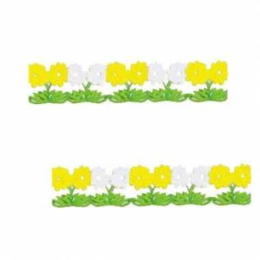 Lente bloemen slinger