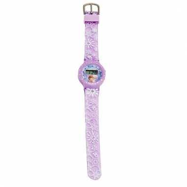 Leren klokkijken frozen horloge digitaal