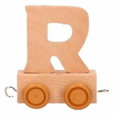 Letter speelgoed treintje r