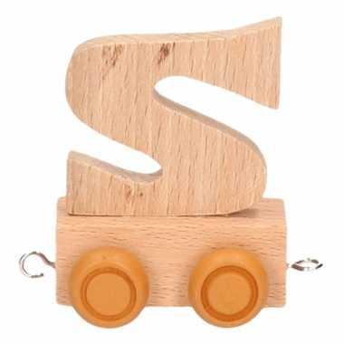 Letter speelgoed treintje s