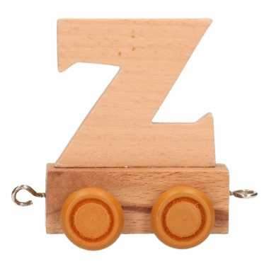 Letter speelgoed treintje z