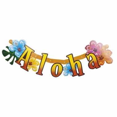 Letterslinger aloha hawaii thema
