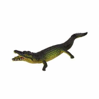 Levensechte krokodil 30 cm