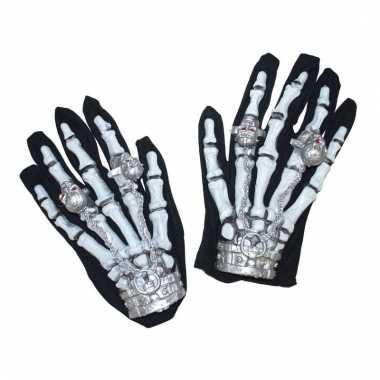 Lichtgevende skelet handschoenen