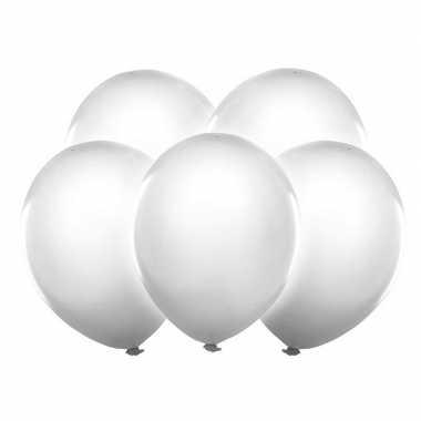 Lichtgevende witte led ballonnen 30 cm