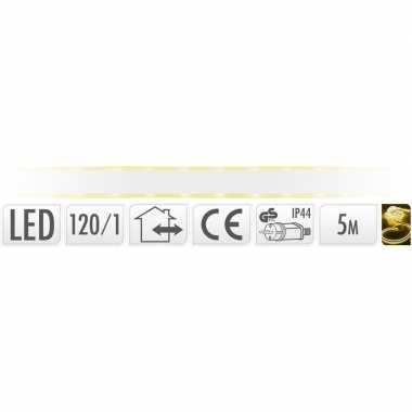 Lichtslang led strip geel buiten 5 meter