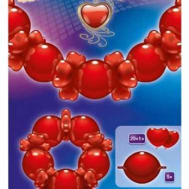 Liefdes ballonnen slinger