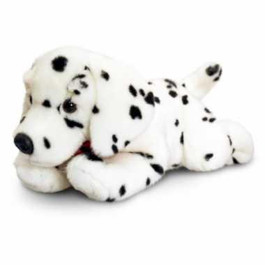 Liggende dalmatier knuffel 50 cm