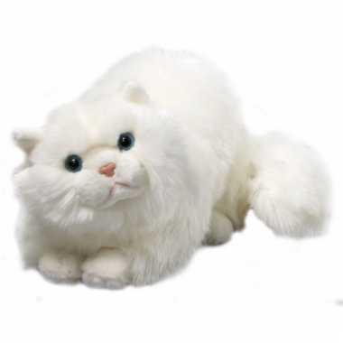 Liggende perzische katten knuffel