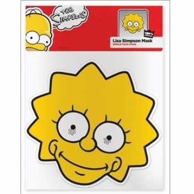 Lisa simpson karton masker