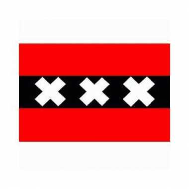 Logo vlag van amsterdam