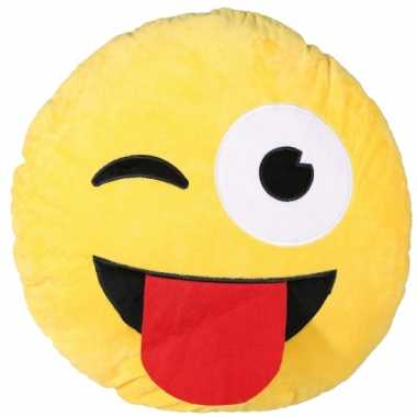 Lol emoji kussen 50 cm