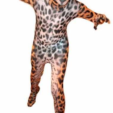 Luipaard morphsuit volwassenen