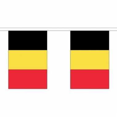 Luxe belgische vlaggenlijn 3 meter