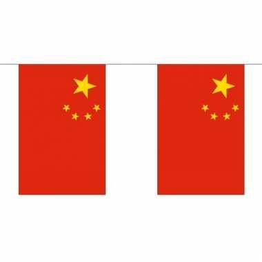 Luxe chineze vlaggenlijn 3 meter