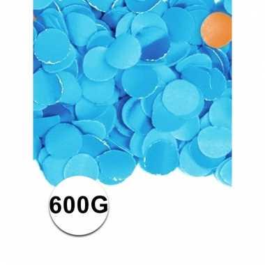 Luxe confetti blauw 600 gram