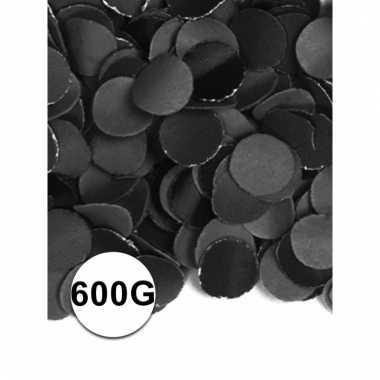 Luxe confetti zwart 600 gram