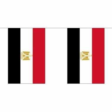 Luxe egyptische vlaggenlijn 3 meter