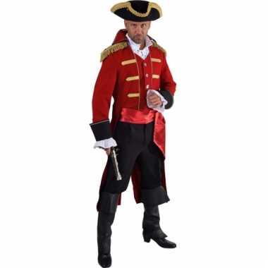 Luxe historisch carnavalskostuum piraat