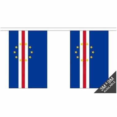 Luxe kaap verdische vlaggenlijn 3 meter
