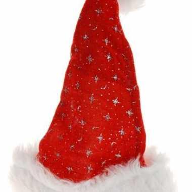 Luxe kerstmuts met sterretjes