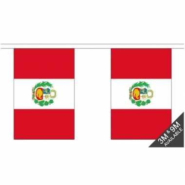 Luxe peruaanse vlaggenlijn 3 meter