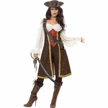 Luxe piraten kostuum voor dames