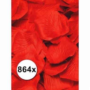 Luxe rozenblaadjes rood 6 zakjes