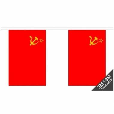 Luxe sovjet unie vlaggenlijn 3 meter