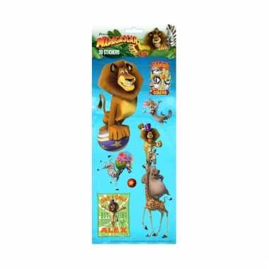 Madagascar 3d stickervelletje